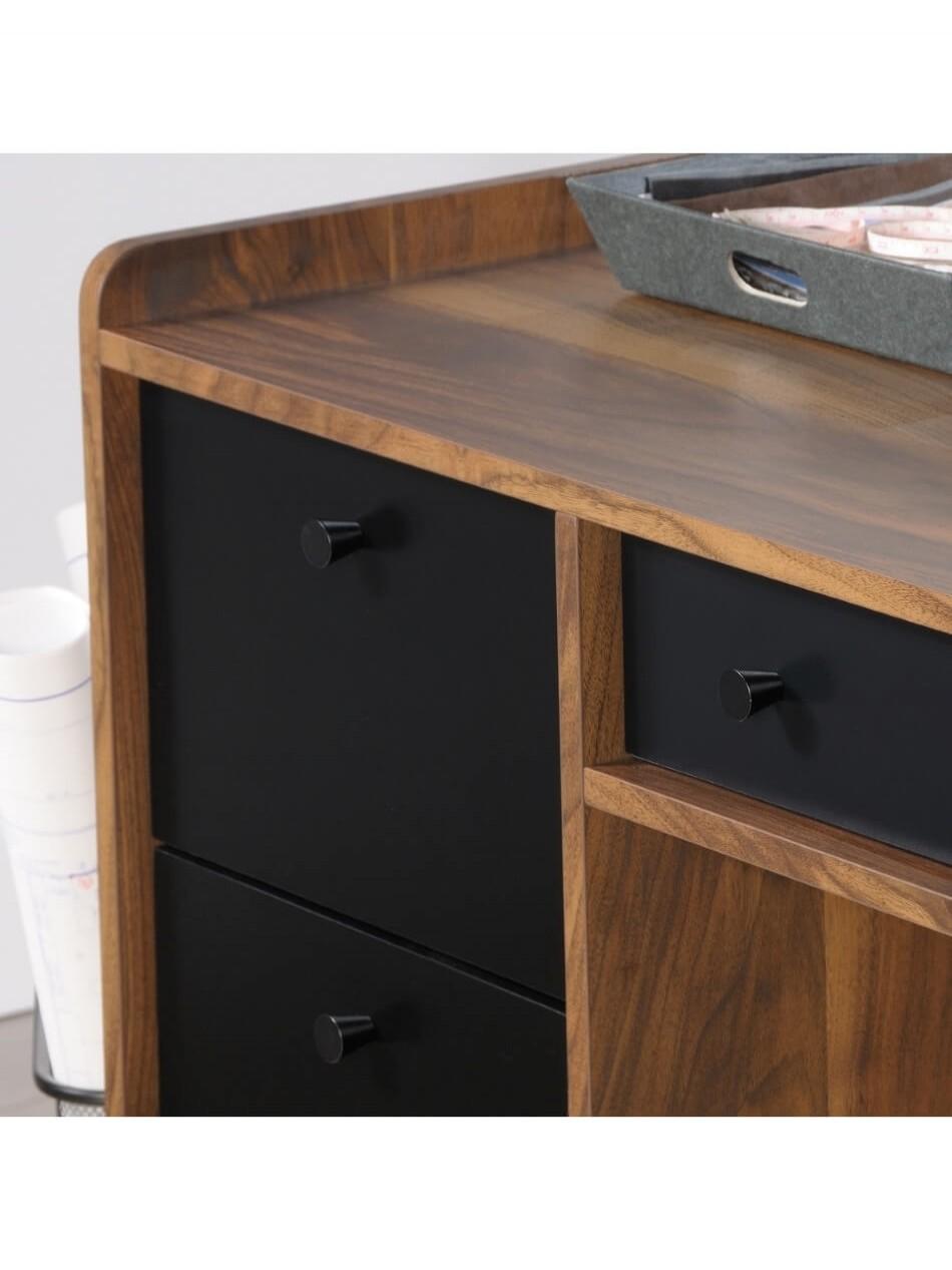 Home Office Furniture Uk Desk Set 18: Home Office Desks Hampstead Park Walnut Office Desk