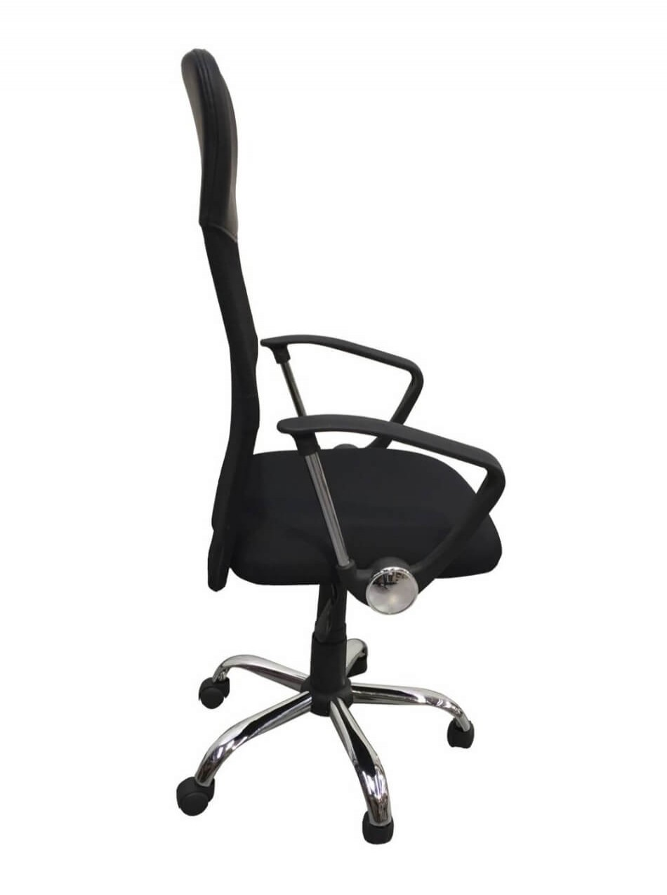 Office Chairs - Orlando Mesh Office Chair in Black 4087BLK