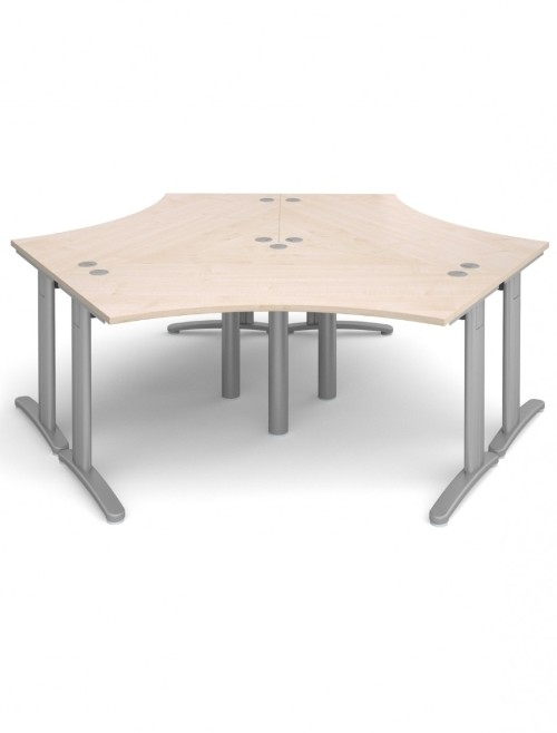 Maple Office Desks