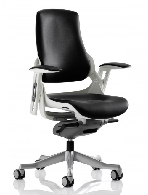 Office Chairs - Zure Executive Leather Office Chair EX000110