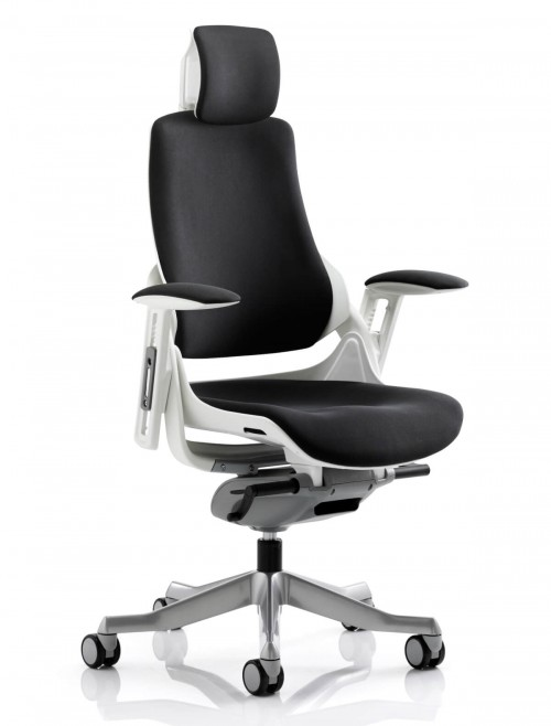 Zure Executive Fabric Office Chair with Headrest KC0161
