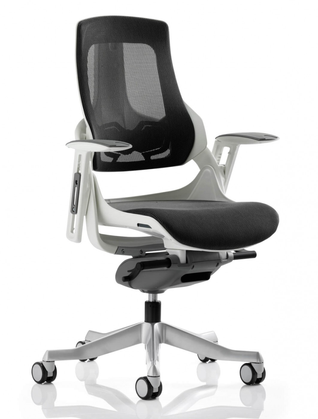 Office Chairs - Zure Charcoal Executive Mesh Office Chair EX000111