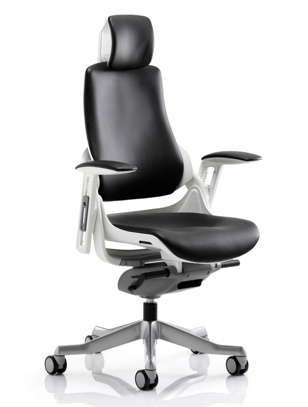 Zure Executive Leather Office Chair With Headrest Kc0166