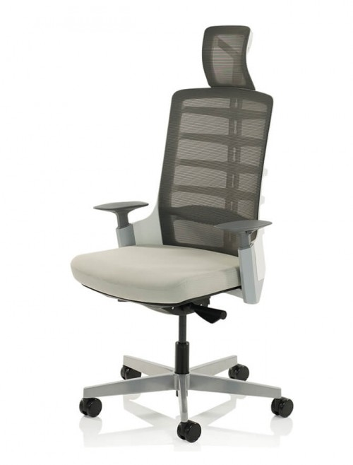Office Chairs - Exo Charcoal Mesh Office Chair EX000194