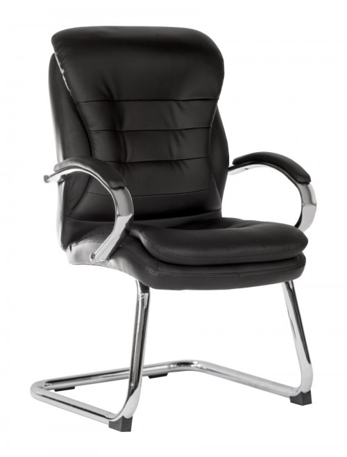 Office Chairs - Goliath Lite Bonded Leather Visitor Chairs 6958
