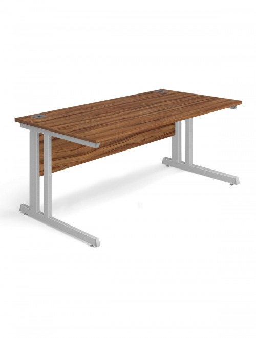 Walnut Office Desk 1600x800mm Aspire Desk ET/SD/1600/WN