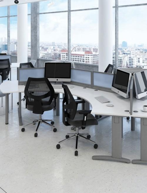 TR10 White Office Desks