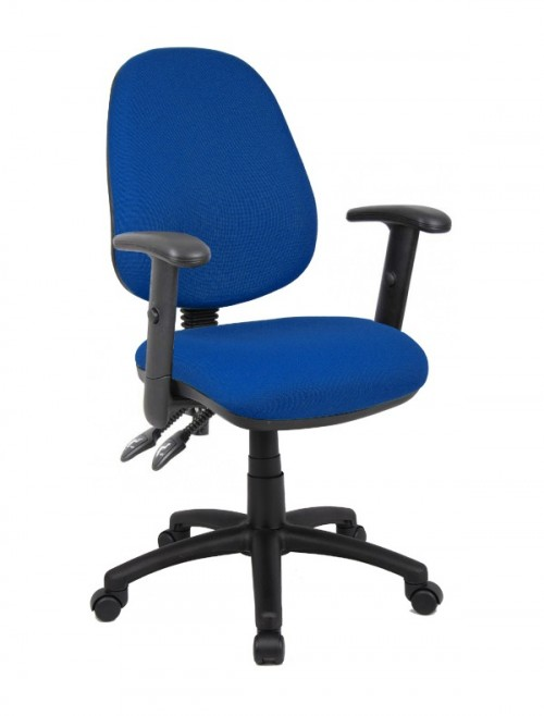 Office Chair - Vantage 102 Operator Chairs V102-00 with Adjustable Arms