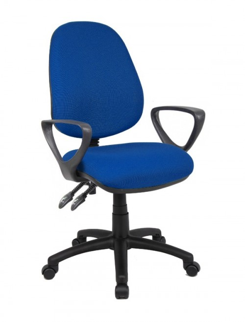Office Chair - Vantage 101 Operator Chairs V101-00 with Fixed Arms