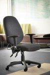 Office Chairs - Sofia Fabric Managers High Back Office Chair SOF300T1 - enlarged view
