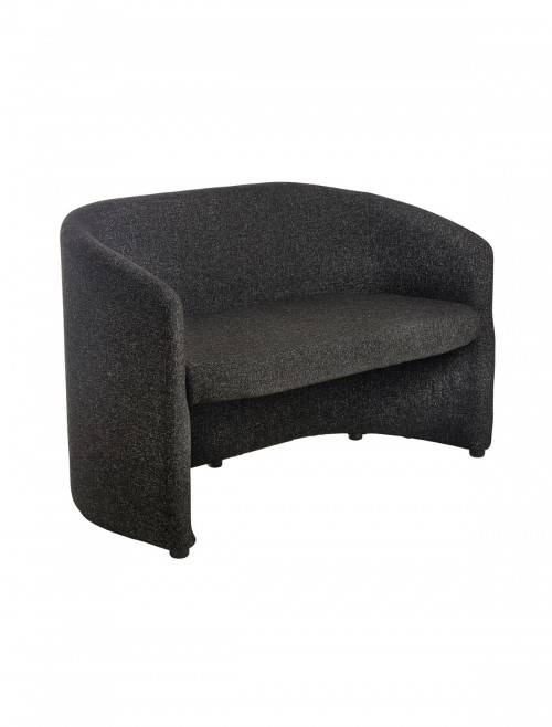 Reception Seating - Slender Fabric Two Seater Tub Chair SLE50002