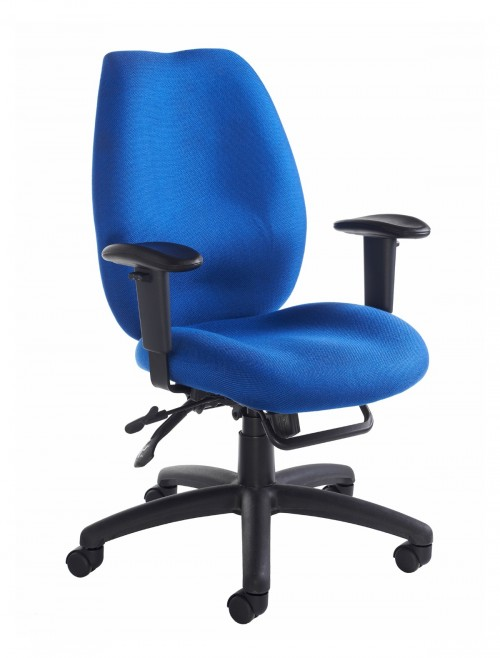 Office Chairs - Cornwall Fabric High Back Operator Chairs CWL300K2