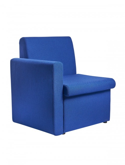 Reception Seating -  Alto Fabric Modular Reception Chair w/ Right Arm ALT50006