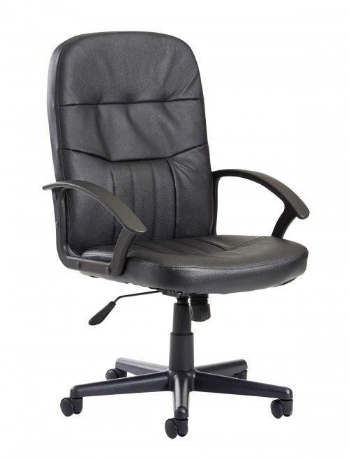 Office Chairs - Cavalier Leather Faced Managers Chair CAV300T1