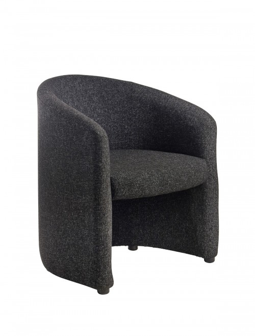 Reception Seating - Dams Slender Fabric Tub Chair SLE50001