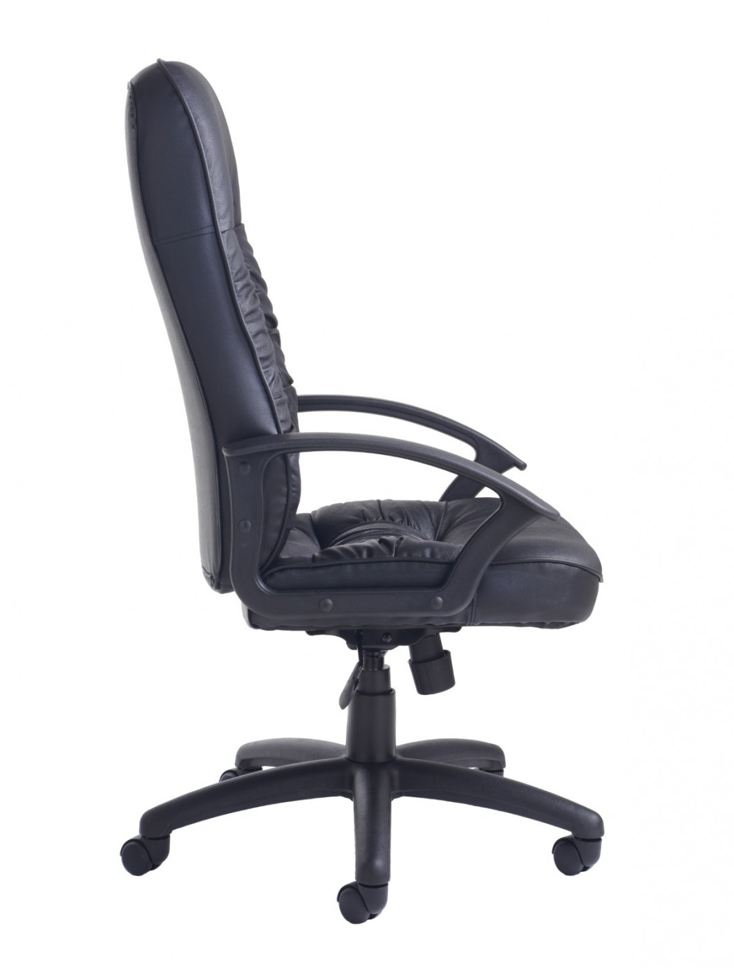 Office Chairs - King Leather Faced Managers Chair KNG300T1 - enlarged view  sc 1 st  121 Office Furniture & Office Chairs - King Leather Faced Managers Chair KNG300T1   121 ...