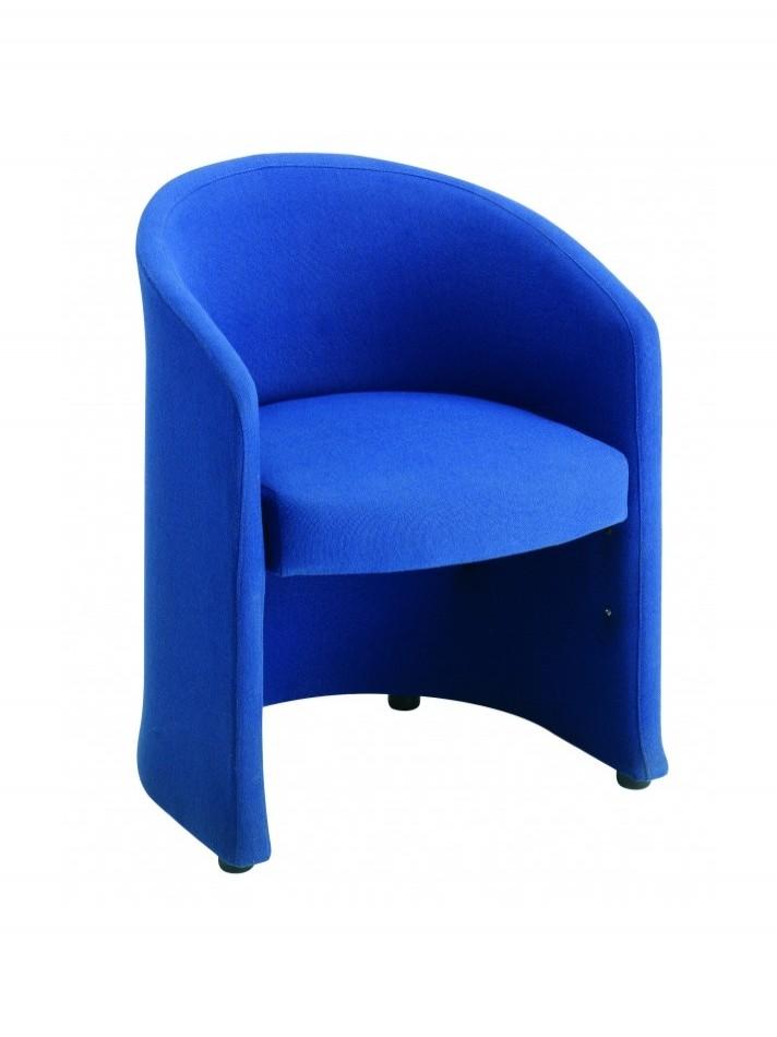 Reception Seating - Dams Slender Fabric Tub Chair SLE50001   121 ...