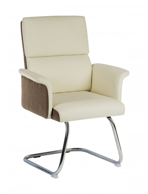 Office Chairs - Teknik Elegance Visitor Chair 6959CRE in Cream