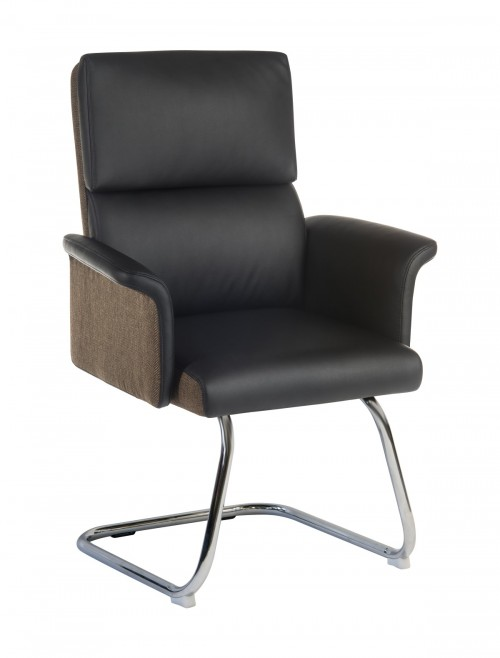 Office Chairs - Teknik Elegance Visitor Chair 6959BLK in Black