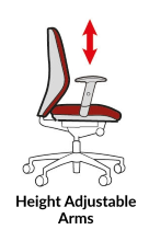 Function - Height Adjustable Arms