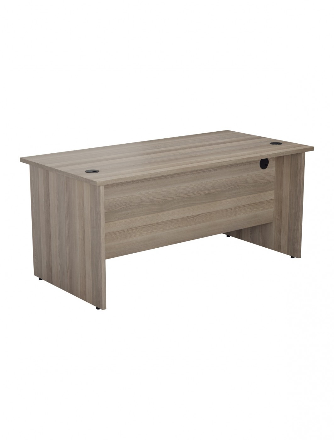 Grey Oak Office Desk 1600x800mm TC One Panel Desk OPR1680PGO   Enlarged View