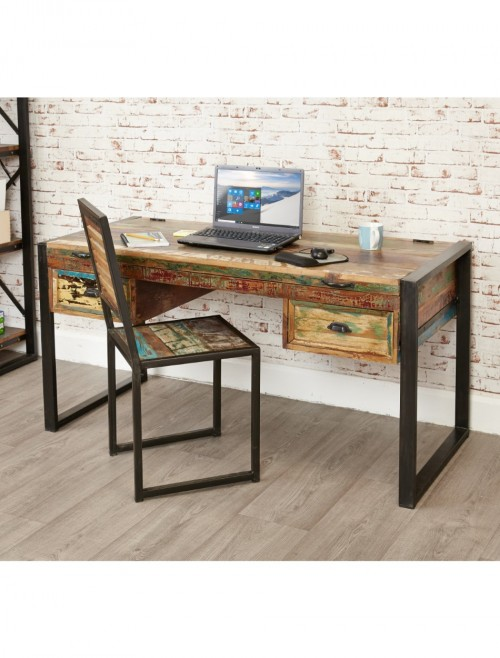 Home Office Desk - Laptop Desk Baumhaus Urban Chic IRF06A
