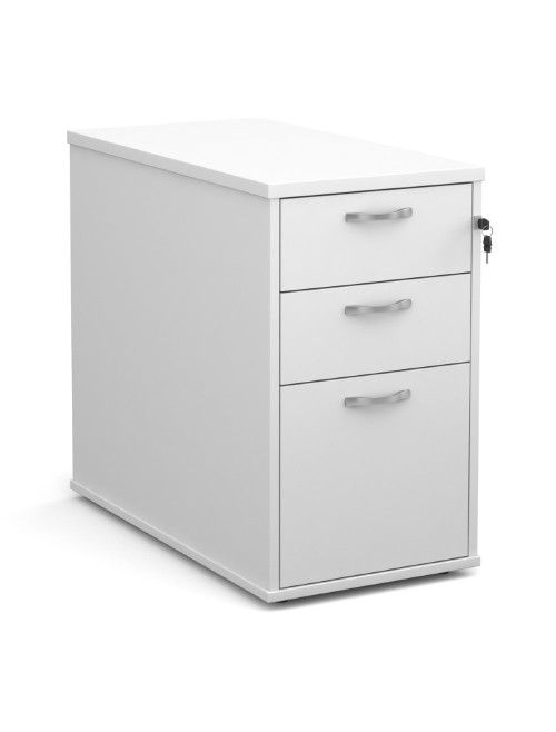 Desk High Pedestal - 800mm Deep 3 Drawer Pedestal R25DH8 by Dams