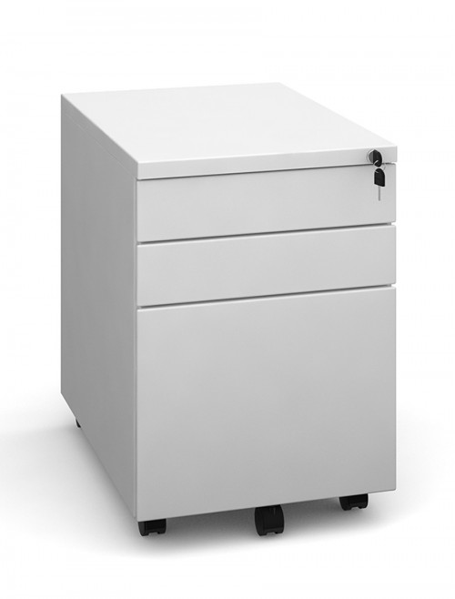 Office Storage - Dams 3 Drawer Mobile Steel Pedestal MP3