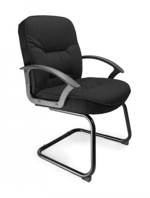 Coniston-C Fabric Cantilever Visitors Chair 6062AV/FBK