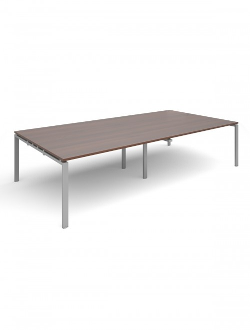 Adapt II Rectangular Bench Boardroom Table EBT 3216 3200x1600mm