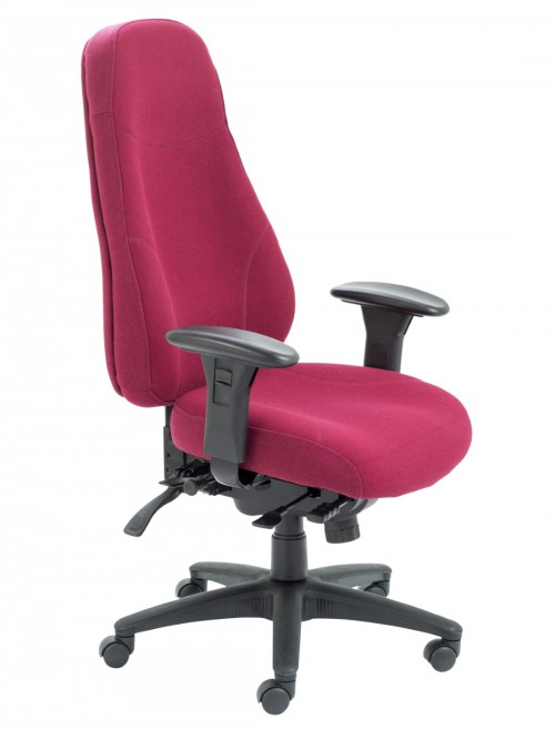 TC Office Cheetah High Back Fabric Office Chair CH1111RU
