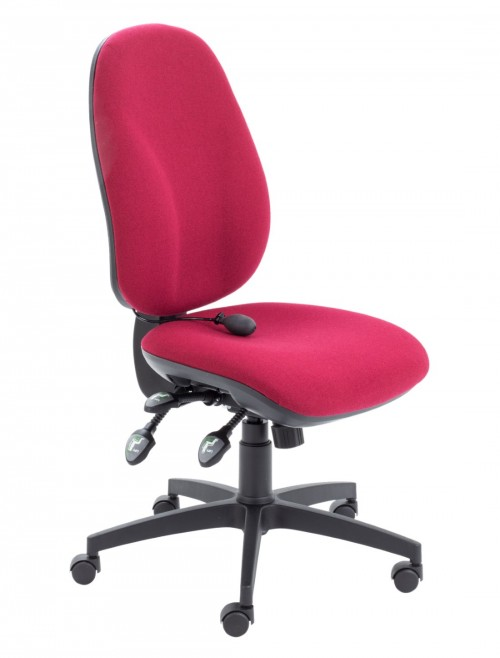 TC Office Concept Maxi Ergo Office Chair CH0808CL in Claret