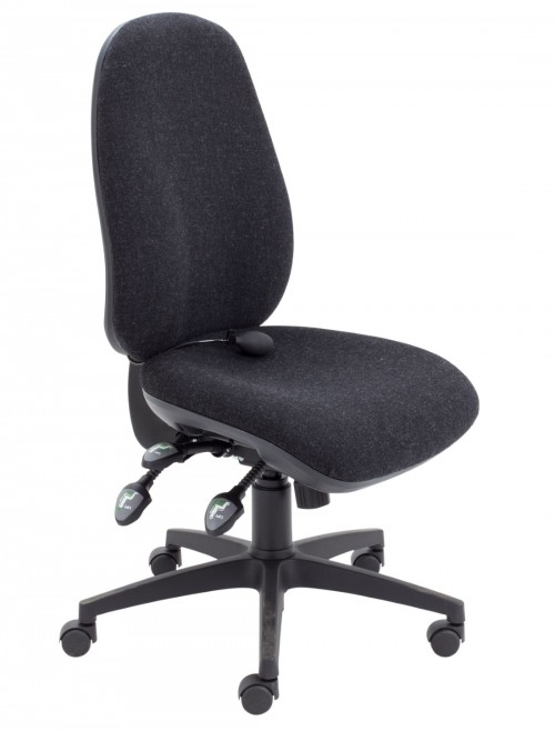 TC Office Concept Maxi Ergo Office Chair CH0808CH in Charcoal