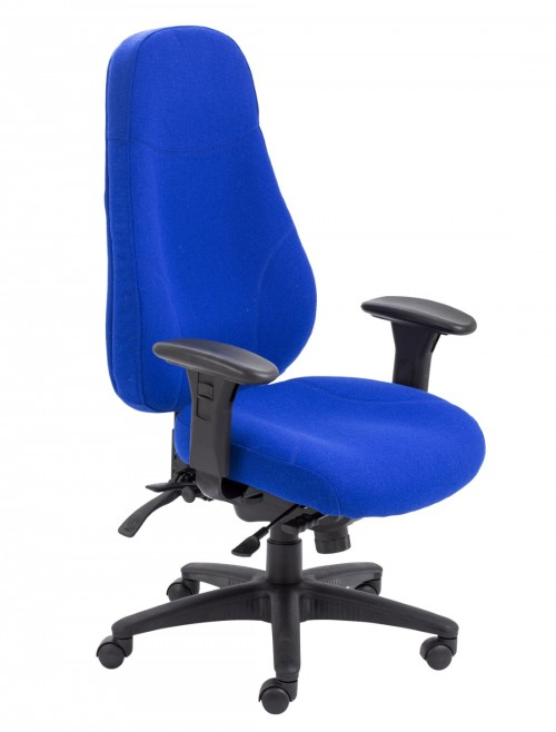 TC Office Cheetah High Back Fabric Office Chair CH1111MA