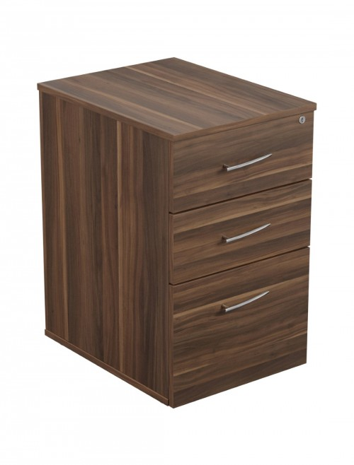 Dark Walnut Pedestal TC Regent Executive Pedestal TRUDP3DW