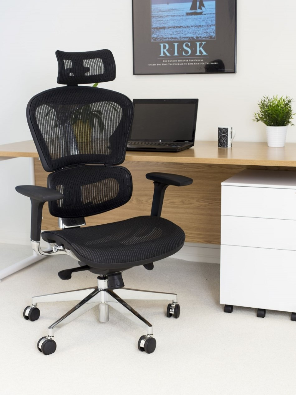 Office Chairs - Grande Executive Mesh Office Chair CH1911 | 121 ...