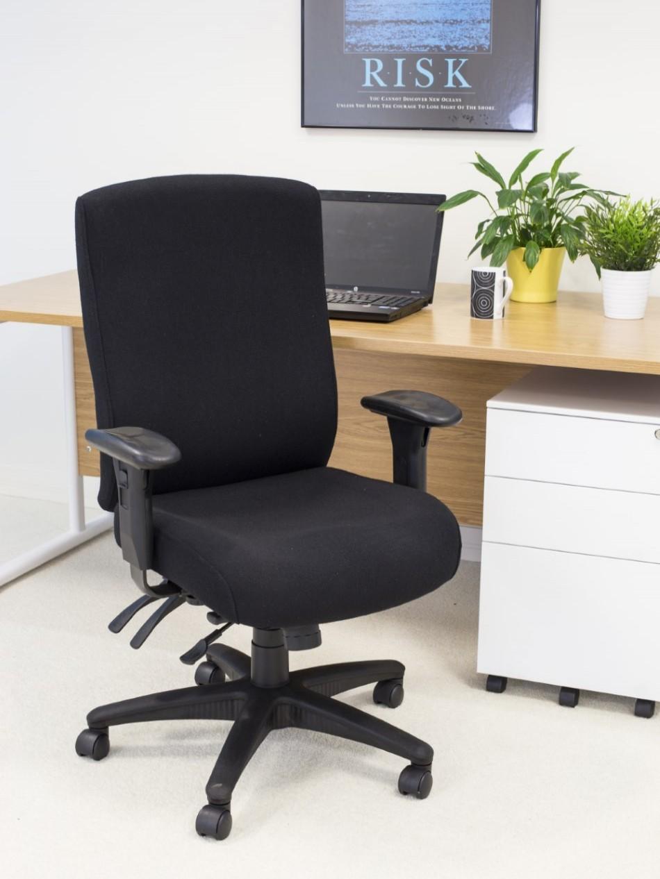 Office Chairs Marathon Heavy Duty Office Chair Ch1106bk
