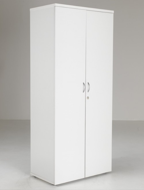 Tall White Cupboard 180cm LITE1845WDWH