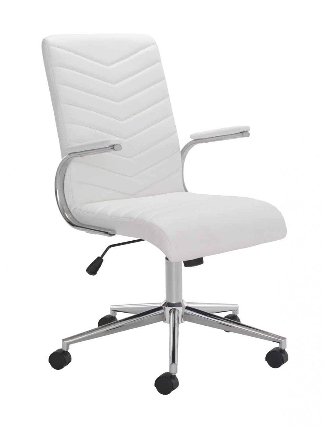 Office Chairs - TC Baresi Managers White Office Chair CH0789WH