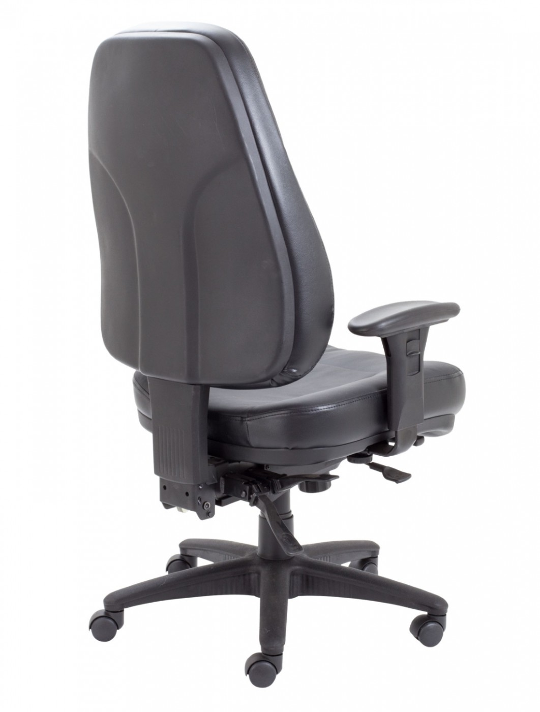 office chairs tc panther black leather office chair ch1101 121 office furniture. Black Bedroom Furniture Sets. Home Design Ideas