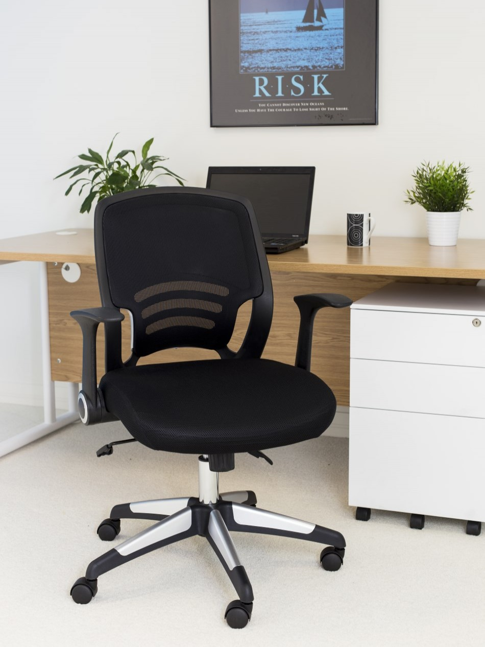 Office Chairs - TC Carbon Mesh Office Chair CH1730BK