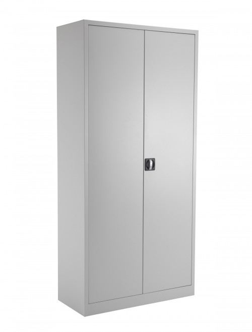 Steel Storage - TC Talos 1950mm Steel Cupboard TCSDDC1950GR in Grey