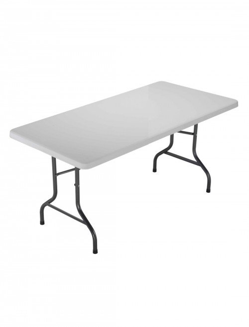 Folding Tables - TC Morph White 1500mm Rectangular Folding Table OF0402WH