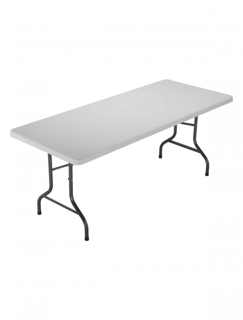 Folding Tables - TC Morph White 1820mm Rectangular Folding Table OF0401WH