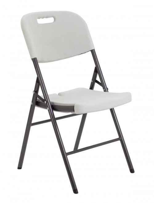 Folding Chairs - TC Morph White Lightweight Folding Chair OF0410WH