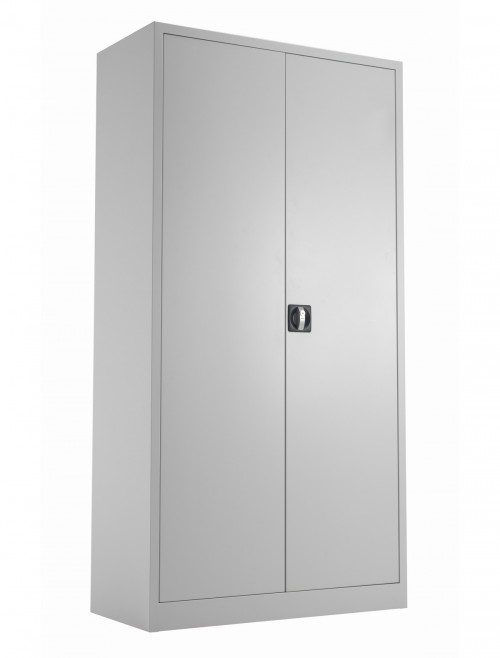 Steel Storage - TC Talos 1790mm Steel Cupboard TCSDDC1790GR in Grey
