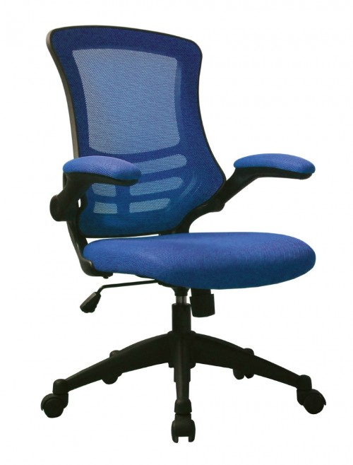 Mesh Office Chair Luna Blue BCM/L1302/BL by Eliza Tinsley