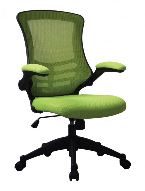 Mesh Office Chair Luna Green BCM/L1302/GN by Eliza Tinsley