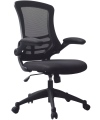 Luna Mesh Office Chair with Black Frame