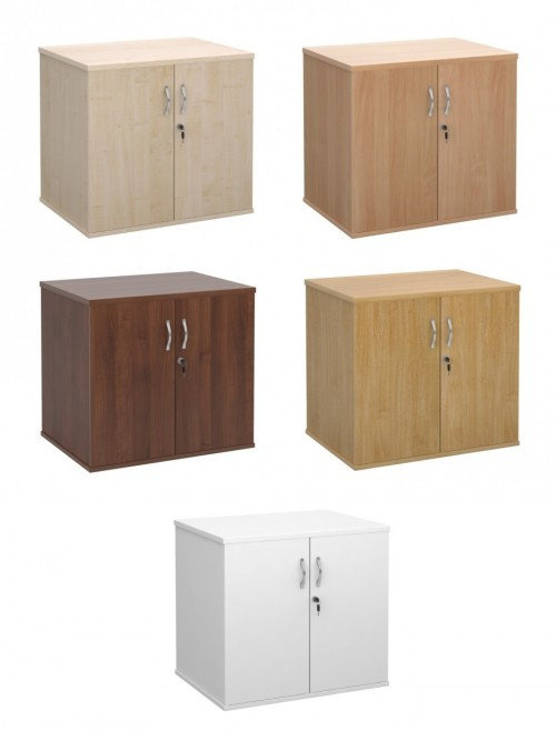 Dams Deluxe Desk High Double Door Cupboard DHCC